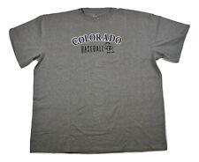 Majestic Big & Tall Mens MLB Colorado Rockies Baseball Shirt New 2XL, 5XL