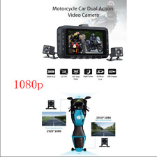 "3.0"" LCD Motorcycle HD Action Camera Video DVR Recorder Front & Rear Dual Camera"