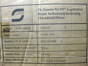 tk-trenner aht für kopftruhe miami 215918 Fachtrenner Fachteiler Teiler Trenner