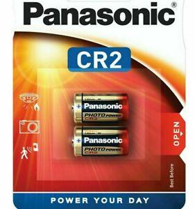 GENUINE PANASONIC CR2 3V DIGITAL PHOTO CAMERA BATTERY ELCR2 4-10 PACKS
