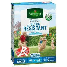 Vilmorin 4462414 Gazon Ultra Résistant Vert 1 kg (sjt)