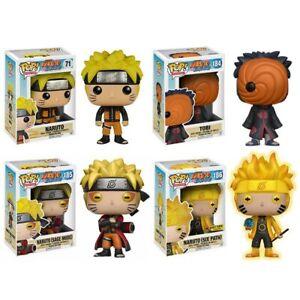 Naruto Funko Pop Itachi Kakashi Sasuke Dolls Action Figure Collection Model Toys