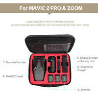 Waterproof Shoulder Storage Bag For DJI MAVIC 2 PRO /ZOOM Drone Original Charger