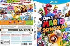 Super Mario 3D World (Nintendo Wii U, 2013) - USED