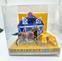 Breyer Seabiscuit Pocket Barn Play Set - New in Packaging