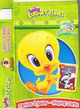 TWEETY BIRD LOONEY TUNES & GANG   DECK OF 52 PLAYING CARDS WITH JOKERS & BOX