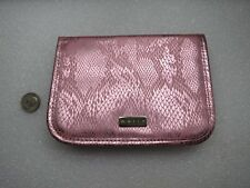Mally Beauty Pink Cosmetics / Makeup Bag  - Zip Pouch - Brand new