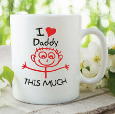 Daddy Mug I Love My Daddy This Much Gift Birthday Present Fathers Day WSDMUG295