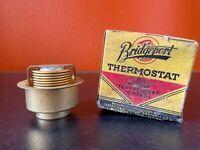 Vintage Thermostat NOS Bridgeport #19 car truck Ford 6 Cyl 1949-51 48 155 degree
