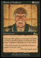 MTG 4x BRINK OF MADNESS - Urza's Legacy *Rare DEUTSCH*