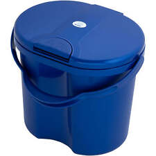 Rotho Top Diaper Bin With Tipp-Deckel - Royal Blue Pearl New