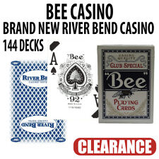 Bee Casino Playing Cards  River Bend Casino Brand New Sealed Decks 144 Blue