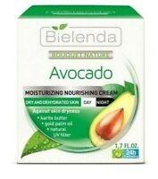 Bielenda Avocado Moisturising Nourishing Cream For Dry and Dehydrated Skin 50ml
