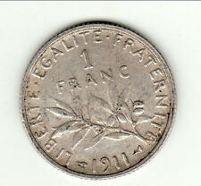 1 FRANC type  Semeuse 1911   a saisir petit prix !!