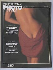 PRL) PHOTO TECHNIK INTERNATIONAL 2/83 1983 B20186F SINAR P PENTAX LX BRONICA