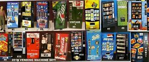 One Soda Vending Machine 1:43 (O) Scale Diorama miniature FREE SHIPPING SPECIAL!