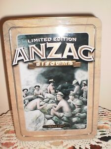 """LIMITED EDITION ANZAC BISCUIT TIN  - """"TOBRUK 1941"""""""