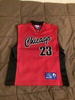 Chicago Retro Logo #23 Basketball Jersey Size Youth 10/12 All Nations Are One