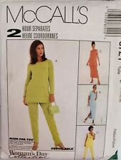 McCall's Woman's Day Misses'Petite Tunic, pull-on Pants, Skirt sz 14,16,18 uncut