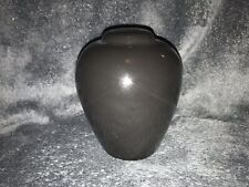 Black Ceramic Small Pet Urn, Small Dog Urn Or Cat Urn, Cortesia