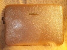 "Juicy Couture ""15 Laptop Sleeve Glittery Gold"