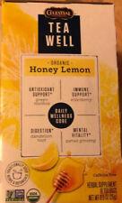 TeaWell Organic Honey Lemon Wellness Tea, 16 Count Box