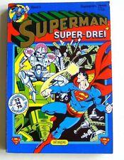 SUPERMAN Taschenbuch TB - 73 + 74 + 75 im SUPER DREI SAMMELBAND 3 - ehapa