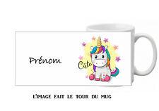 mug tasse ceramique licorne personnalisé licorne réf 427