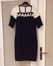 CONDICI Mother of Bride/Groom Black White Dress Outfit PETITE 12