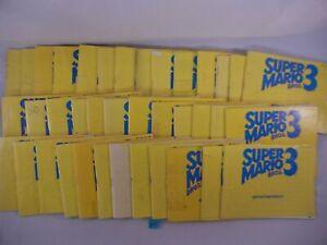 SUPER MARIO BROS. 3 NINTENDO NES DAMAGED MANUAL