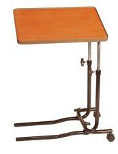 Over Bed & Chair Overbed 2 Castor Tilting Top Multipurpose Adjustable Table Desk