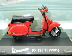 COLLEZIONE MODELLINI VESPA COLLECTION MOTO SCALA 1:18 px 125 t5 nuovo MOTOR BIKE