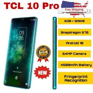 TCL 10 Pro smartphone unlocked 6GB + 128GB NFC Snapdragon 675
