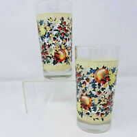 Sweet Country Harvest 12 Oz Tumbler 6447031 Set of 2 Glasses