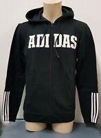Adidas 3-stripe logo Men`s Full Zip Fleece Hoody