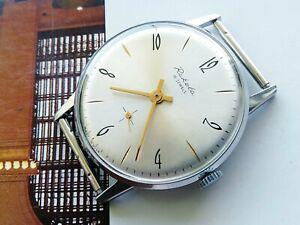 Raketa Vintage Original Soviet Mechanical Men's Wristwatch cal. 2603, USSR Watch