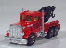 """Matchbox 1981 Peterbilt Eddie's Wrecker 3"""" 1:80 Tow Truck Lesney England"""
