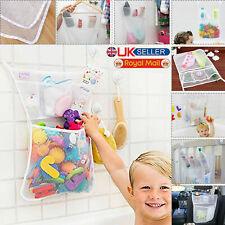 Baby Bath Bathtub Toy Mesh Net Storage Bag Suction Cup Shower Bathroom Organiser