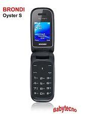 CELLULARE Brondi OYSTER S Vivavoce Dual Sim QUADRIBAND RADIO FM microSD Slot IT