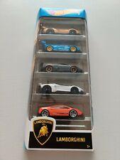 Mattel Hot Wheels Lamborghini 5 Pack (BNIB)