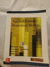 Applied Linear Statistical Models - Kutner - 5th Ed - International - Softcover