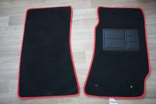 Front Pair Car Floor Mats w/Red Binding for Holden Commodore VT/VX/VY/VZ Sedan
