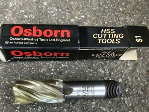 "Osborn 25/32"" Endmill -.Screwed shank - Brand New"