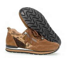 Gabor Comfort Damen Rollingsoft Sensitiv Brauner Velourleder Sneaker