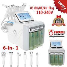 6 IN 1 Water Oxygen Hydra Dermabrasion Ultrasonic BIO Beauty Facial Machine