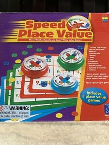 Speed Place Value Educational Insights Game NIB Factory Sealed 2-4 Players