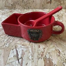 More details for heinz tomato soup bowl mug holder with spoon