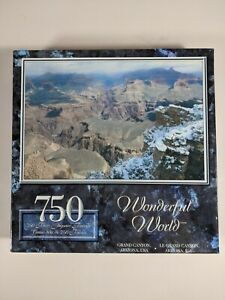 Brand New Sealed 750 piece Jigsaw Puzzle Sure Lox Wonderful World Grand Canyon