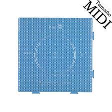 Placa / pegboard Hama Beads MIDI 15x15cm interconectables transparente