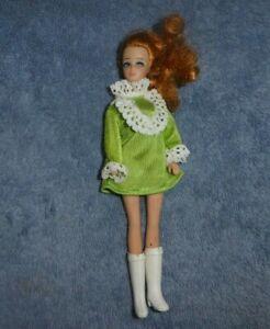Vintage Dawn Doll - MOD Era Topper Dawn Family Doll with Titian Ponytail